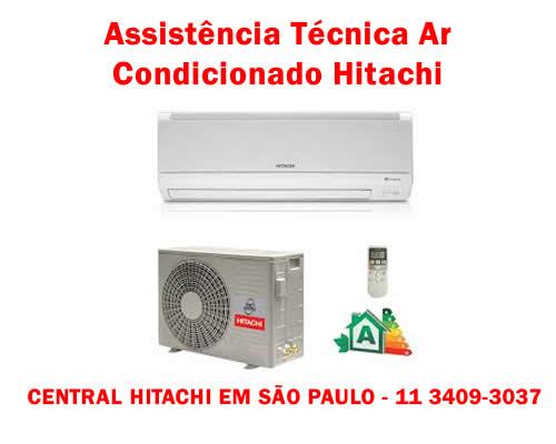 Assistência Técnica Ar Condicionado Hitachi