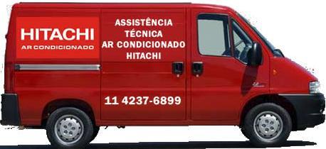Unidade móvel assistência técnica ar condicionado Hitachi