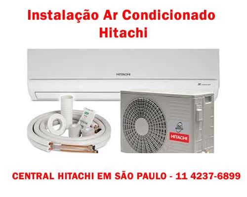 Instalação ar condicionado Hitachi