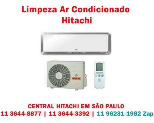 Limpeza ar-condicionado Hitachi