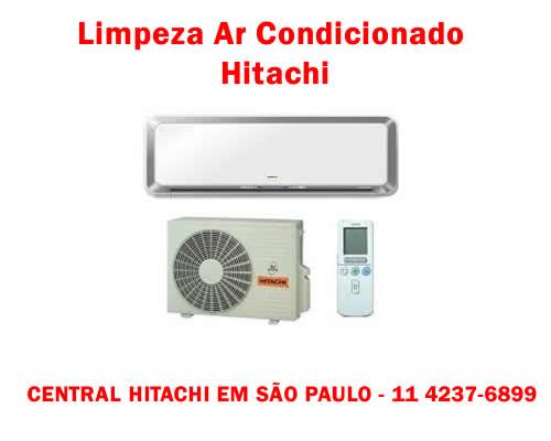 Limpeza ar condicionado Hitachi