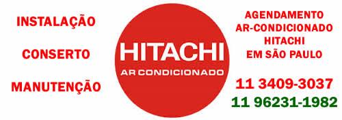 Agendamento Ar-condicionado Hitachi