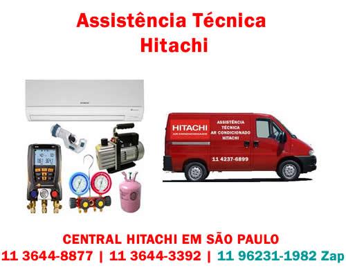 Assistência técnica Hitachi