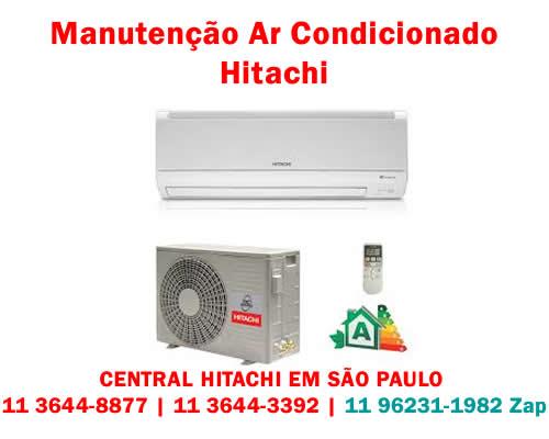 Manutenção ar-condicionado Hitachi