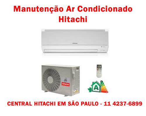 Manutenção ar condicionado Hitachi