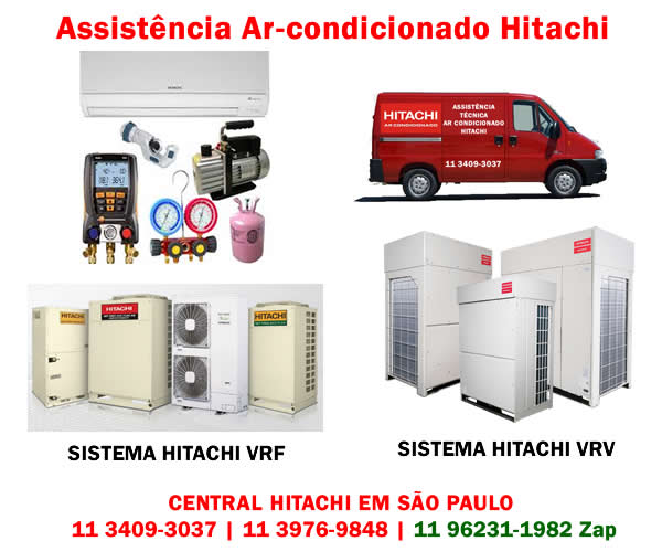 Assistência ar-condicionado Hitachi